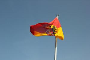 Wappenflagge Bussen Oberschwaben