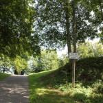 Weg zwischen Burg und Kirche - Bussen Oberschwaben