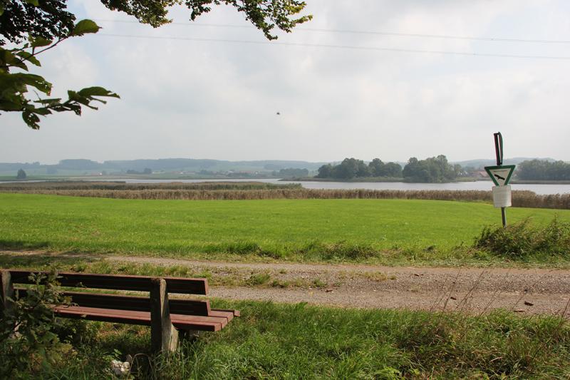 Bank-mit-Blick-auf-Vogelfreistätte-Rohrsee