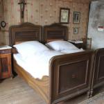 Bett im Bauernhaus Museum Wolfegg