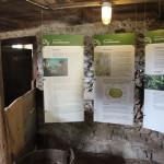 Erklärungen im Bauernhaus Museum Wolfegg