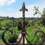 Garten mit traditionellem anbau