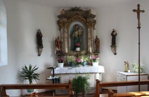 Innenraum Kapelle Graben