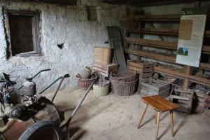 Keller eines Hauses Bauernhaus Museum Wolfegg