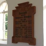 Kriegsopfer in der Kapelle Graben