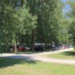 Parkplatz Steeger See Badesee Aulendorf