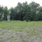 Platz neben dem Sendemast bei Mennisweiler