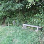 Sitzbank auf der Grabener Höhe