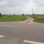 Landstraße 314 zwischen Bad Wurzach und Mennisweiler