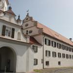 Barocke Gebäude des Klosters Bad Schussenried