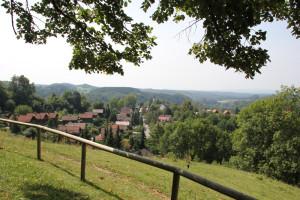 Blick nach Südwesten vom Lindele