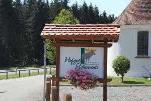 Schild Hofgut Elchenreute