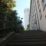 Treppen zum Mehlsack Ravensburg