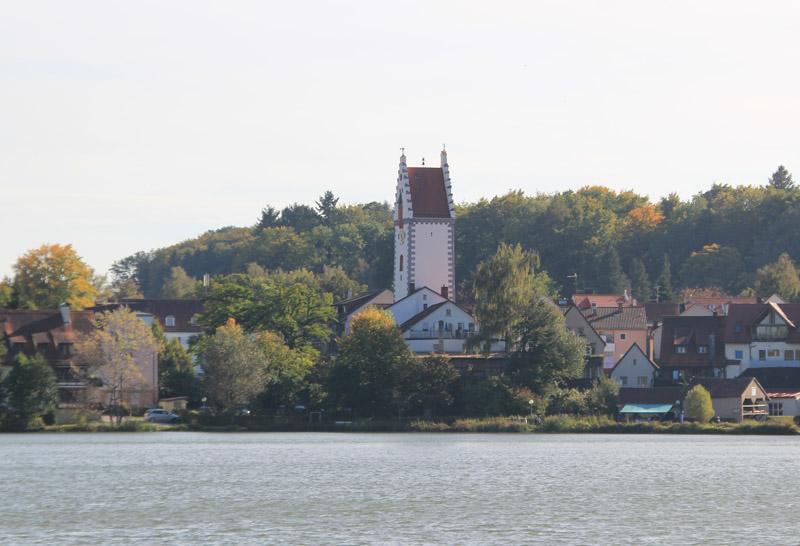 Wurzacher Tor Bad Waldsee vom See