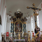 Altar Kirche Unteressendorf