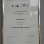 Auszeichnung Römermuseum Mengen Ennetach