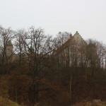 Schloss Warthausen mit Bäumen