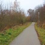 Wanderweg zum Schloss Warthausen