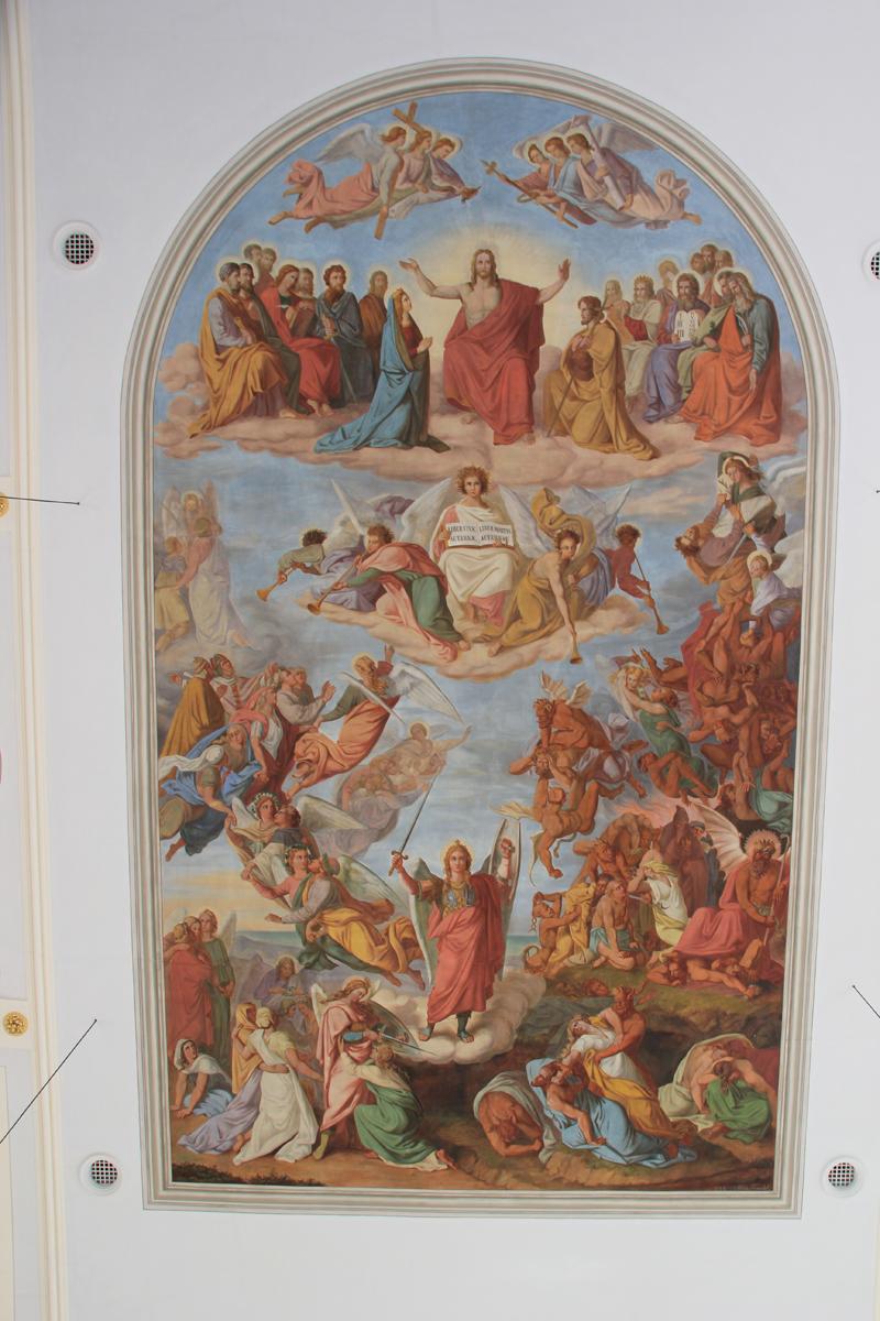 Weltbild Christentum Deckenbild