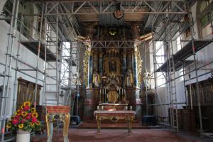 Altar Kirche Bergatreute