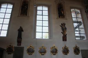 Barocke Verzierungen Kirche Bergatreute