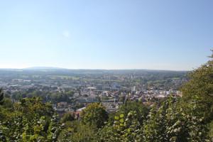 Blick über Ravensburg