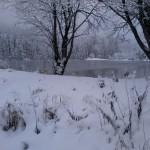 Eschacher Weiher Winter