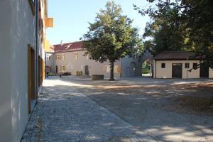 Innenhof Veitsburg Ravensburg