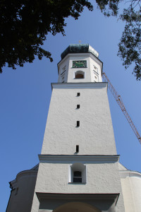 Kirchturm Bergatreute Oberschwaben
