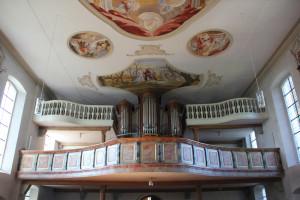 Orgel Kirche Bergatreute