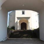 Torbogen Bergatreuter Kirche
