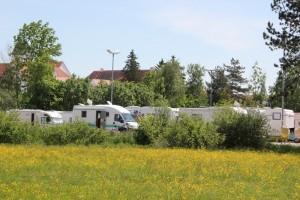 Wohnwagen Platz am Kurpark Bad Buchau