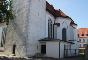 Eingang Stiftskirche Bad Buchau