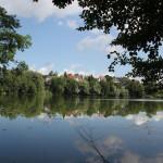 Privatgelände-Schloßsee-Bad-Waldsee