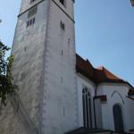 Turm der Stiftskirche Bad Buchau