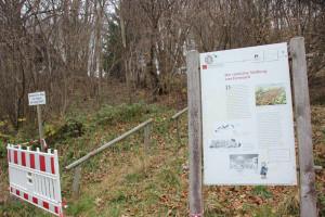 Archäologischer Wanderweg Station 3