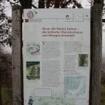 Archäologischer Wanderweg Station 8