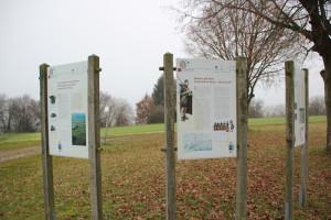 Archäologischer Wanderweg Stationen 4&5&6