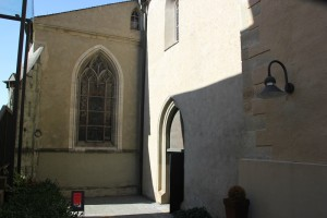 Gotische Fenster Kirche Ravensburg