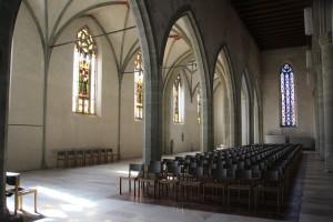 Langhaus Kirche Ravensburg