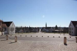09 Allee zum Schloss Altshausen