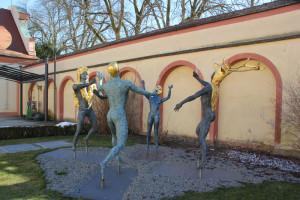 14 Kunstwerke Schlosspark Altshausen
