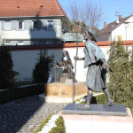 15 Figuren Schlosspark Altshausen