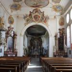 23 Schlosskirche Altshausen Innenraum
