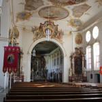 24 Innen Schlosskirche Altshausen