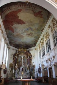 25 Altarraum Schlosskirche Altshausen