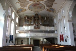 30 Orgel Schlosskirche Altshausen