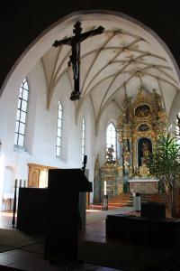 Altarraum Kirche Eberhardzell