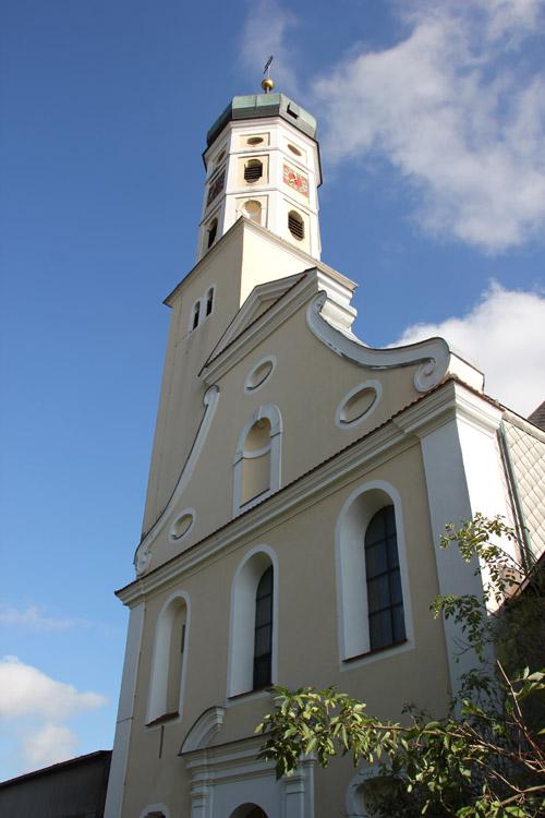 Barocke Front Kirche Eberhardzell