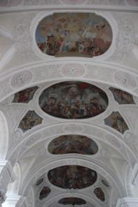 Deckengemälde Klosterkirche Weißenau